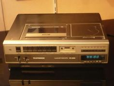 VCR player in the eighties    .....................Please save this pin.   .............................. Because for vintage collectibles - Click on the following link!.. http://www.ebay.com/usr/prestige_online