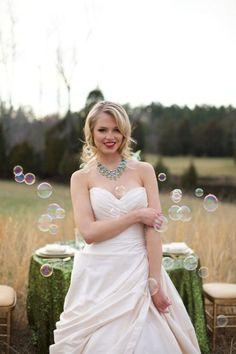 bubbles!!!! Wizard of Oz Wedding Ideas