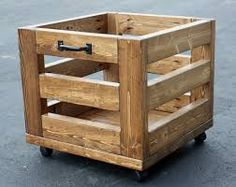 Image result for sturdy planter box wheel diy