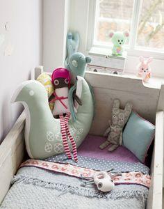 #Beddengoed | dormitoriobebe4 Dormitorio de bebé rústico