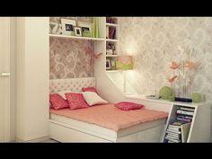 Habitaciones para mujeres adolescentes | Ideas e inspiración - YouTube