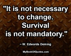 It is not necessary to change