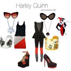 """Harley Quinn"" by bforbel on Polyvore"