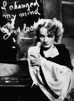 Marlene Dietrich in 'Morocco', 1930.