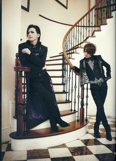 Alice Nine Guitarist & Vocalist -> Tora & Shou     asdfghjklzxcvbnmqwertyuiop!!!!! Soooooo atractive <3 3 <3