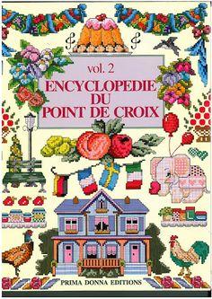 Encyclopédie du point de croix - vol 2 - Chantal MIOCHE CONVERT - Álbuns da web do Picasa