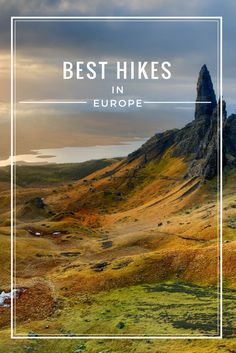 Best Hikes in Europe will take you over rolling hills, through lush countryside, along rugged coastline and to the top of snow-capped mountains. Clink through to find you next hike! via @livedreamdiscov