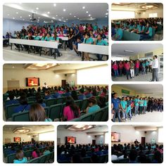 Visita del Instituto Oficial Cristo Rey de #Choloma en #UTH #Honduras
