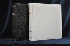 Leather photo albums, custom ordered