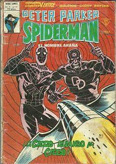 Tebeos, comics y otros sucedaneos en mis estanterias: Peter Parker, Spiderman - Vertice v1 #14