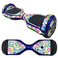 Anboo New Style 2 Wheels Protective Vinyl Skin Decal For 65IN model Self Balancing Scooter Hoverboard C ** You can find more details by visiting the image link.