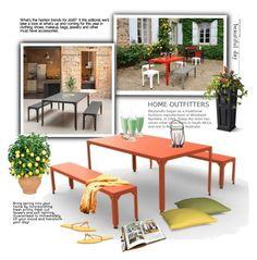 """Gardens"" by cruzeirodotejo ❤ liked on Polyvore featuring interior, interiors, interior design, home, home decor, interior decorating, Grandin Road, GESTALTEN, Havaianas and garden"