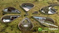 Imagini pentru case in pamant interior