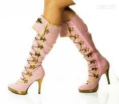 STEAMPUNK SHOES FOR WOMEN   STEAMPUNK VICTORIAN VINTAGE PIRATE pink WOMEN BOOTS review   buy, shop ...