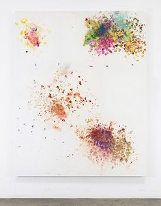When I'm Gone: Dan Colen When I'm Gone #HongKong #Gagosian #Gallery @GagosianAsia #painting #arts
