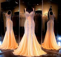 Major Beading Mermaid Prom Dresses Long Sweetheart Crystal Sequins Backless Pageant Dresses High Quality Formal Mermaid Evening Gowns