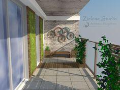 Znalezione obrazy dla zapytania projekt balkonu
