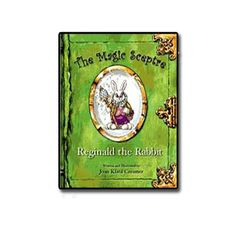 Did you ever wonder how the Easter egg hunt started? Where jellybeans come from? Who works the Easter magic so that all the Easter baskets are delivered on time? With the help of Magic Sceptre and Reginald the Rabbit, some of these secrets are revealed for the first time.  Reginald the Rabbit is a hard cover book, with 32 full color illustrations.  Item# 7558 $16.95
