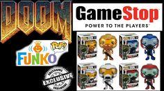 Gamestop Haul! Doom POPs!