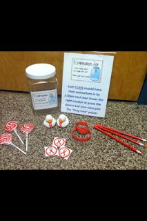The Handy School Counselor - Red Ribbon Week Estimation Jar! High School Counseling, Elementary School Counselor, Pta School, School Clubs, Elementary Schools, School Nursing, School Events, School Days, School Stuff