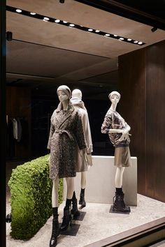"MaxMara,Bond Street,London, UK, ""I go to Starbucks alot, I enjoy Chai Frappes and the gossip I overhear"", by Chameleon Visual,pinned by Ton van der Veer"