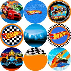 Hot Wheels Birthday, Race Car Birthday, Race Car Party, Birthday Fun, Hot Wheels Cake, Hot Wheels Party, Car Themed Parties, Cars Birthday Parties, Imprimibles Hot Wheels