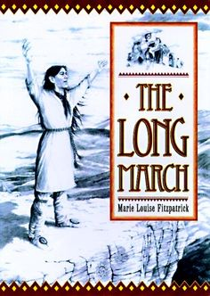 The Long March: The Choctaw's Gift to Irish Famine Relief by Marie-Louise  Covers information about the Choctaw Indians. In the story, there is description of 500-mile march to the New Lands (Oklahoma) from Mississippi. Addresses starvation, sickness and life during the Trail of Tears. Also talks about the goodness and contributions Choctaws gave to America and its Irish immigrants