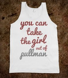 ...but you can't take the Pullman out of the girl