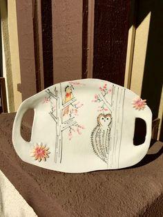 Festive ceramic plate!!!!