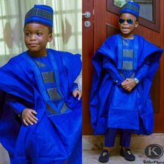 The Boy is FLY Boy King Cap/Agbada/Loafers slayed Outfit Loafers Baby African Clothes, African Clothing For Men, African Shirts, African Dresses For Women, African Attire, African Fashion Dresses, African Wear, African Style, Nigerian Men Fashion