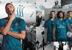 Adidas unveils third kits for Real Madrid Bayern Munich Manchester United Juventus AC Milan and Flamengo