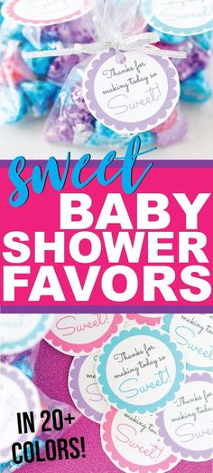 These Are The Sweetest Baby Shower Favors For Boys, For Girls, And For Guests Of Any Age Theyre Cheap And Can Be Filled With Diy Homemade Treats Making Them Perfect For Anyone Looking For Something Inexpensive But Still Unique Perfect For A Baby Shower On Cheap Baby Shower Favors, Budget Baby Shower, Baby Shower Tags, Diy Baby Shower Decorations, Simple Baby Shower, Baby Shower Gifts, Baby Showers, Bridal Shower, Cheap Favors
