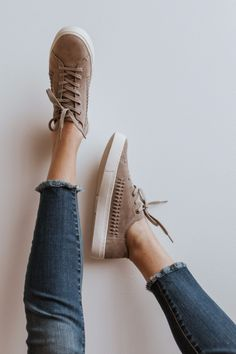f583a7e5a05989 Minimal structure and unlined suede make this Lenox sneaker lightweight and  flexible. The woven detail