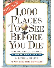 Win a copy of the #1 New York Times bestseller, 1,000 Places to See Before You Die by Patricia Shultz 2 winners!!!! http://fb.me/1K4otL1DB