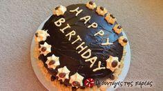 Τέλειο γλάσο σοκολάτας #sintagespareas Greek Desserts, Chocolate Glaze, Baking Tips, Birthday Cake, Cooking Recipes, Treats, Easy, Clever, Foods