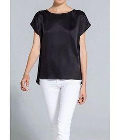 XS-XXL Black Chiffon Womens Lady Clothing Fashion Apparel Tops Shirt Blouses | eBay