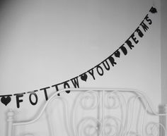 Eigen creatie ~ Follow your dreams ~