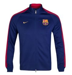 Barcelona Authentic N98 Jacket Blue FC Barcelona Official Merchandise Available at www.itsmatchday.com