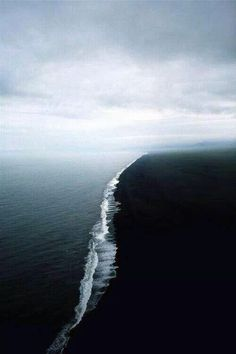 The Gulf Of Alaska, where two oceans meet but do not mix.