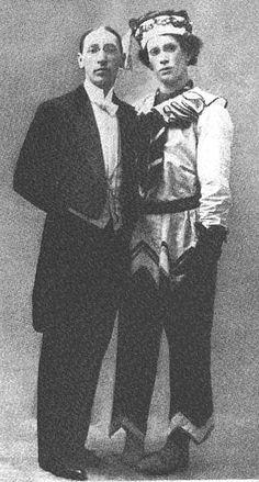 Petrushka - 1911 - Igor Stravinsky et Vaslav Nijinsky