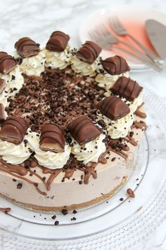 No-Bake Kinder Bueno Cheesecake!