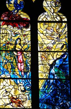 Metz Cathedral, Lorraine.   Marc Chagall | by tin giraffe