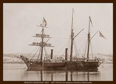 FRAGATA AMAZONAS (1851 – 1897) Navio da Armada Imperial Brasileira. Baía da Guanabara