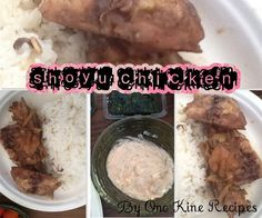 Ono Kine Marinade. Made shoyu chicken in the crock pot. Follow the recipe exactly as is and it's all heaven! For crock pot, defrost chicken, add in chicken and marinade by layers. Cook on high for 2 1/2-3 hours, stir if need to if not, let it be. Crock Pot Freezer, Crock Pot Slow Cooker, Freezer Meals, Slow Cooker Recipes, Crockpot Recipes, Ono Kine Recipes, Slow Food, Learn To Cook
