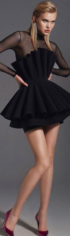 High Fashion Outfits, Party Fashion, Fashion Dresses, Women's Fashion, Bustier Dress, Peplum Dress, Everyday Dresses, Ready To Wear, Party Dress