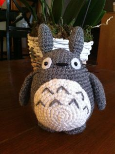 Totoro amigurumi precioso!
