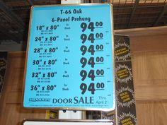 door prices