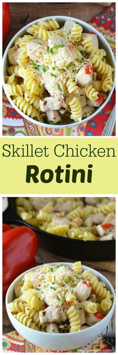 This Skillet Chicken Rotini recipe tastes fantastic and easy to make. If you need a quick meal to fix that doesn't lack taste you should give this dish a try. It would make a great family meal paired with a salad or your favorite veggies. When I am rushing around bringing my kids from place…