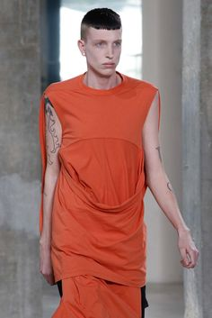 Rick Owens SS16 Menswear