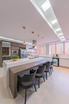 Cozinha TP: Cozinhas modernas por Chris Brasil Arquitetura e Interiores